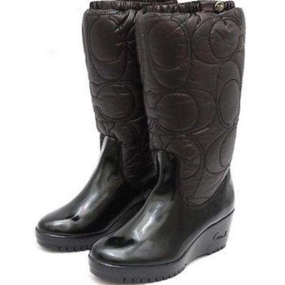 Coach cantina boot never worn !